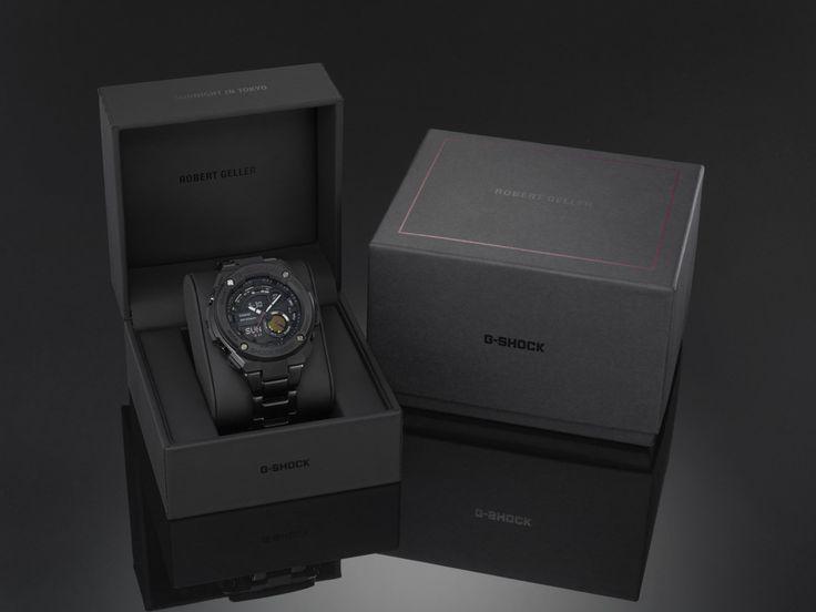 G-SHOCK and Robert Geller announce their new, limited edition men's G-STEEL timepiece, the GST200RBG-1.