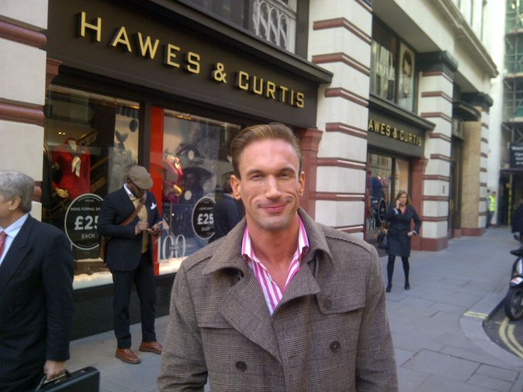 Dr Christian Jessen, star of Channel 4's Embarrassing Bodies, outside our flagship store on Jermyn Street.