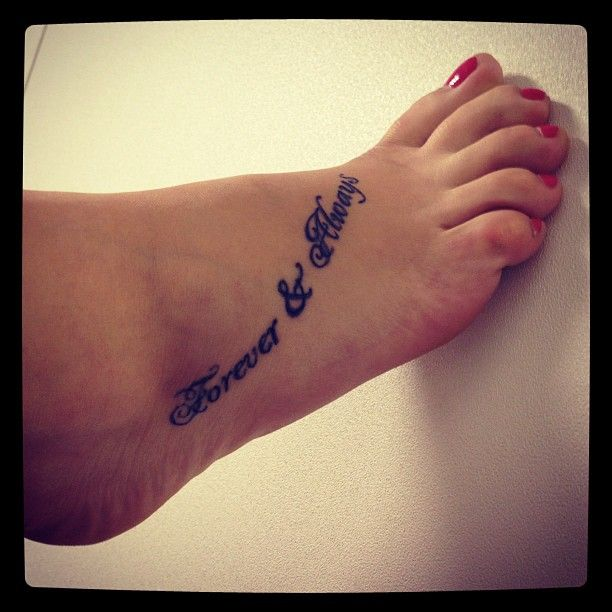 """I want you forever, forever and always, through the good and the bad and the ugly, we'll grow old together, forever and always.""  #foreverandalways #parachute #lyrictattooideas"