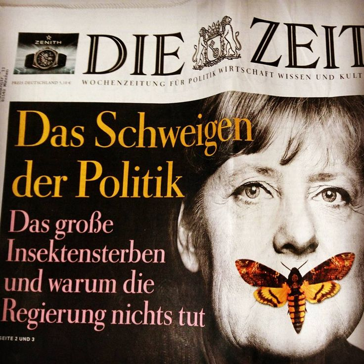 Das #Insektensterben in Deutschland ist dramatisch! Darum finden wir es grandios, dass die @zeit  ihre aktuelle Ausgabe mit diesem wichtigen Thema aufmacht!  Und weil nur meckern nichts bringt haben wir für euch, 5 Tipps, ihr gegen das Insektensterben tun könnt ( Link in der Bio)  #umwelt #natur #nachhaltig #bienen #insekten #marienkäfer #schmetterlinge #savethebees #tiere #tierschutz #utopia.de