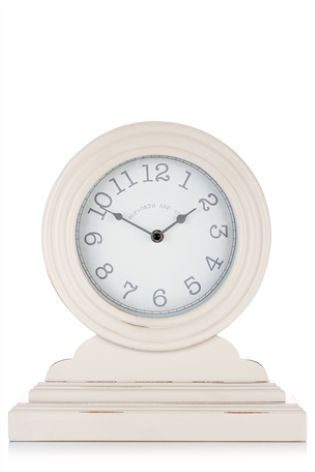 Painted Mantel Clock from Next