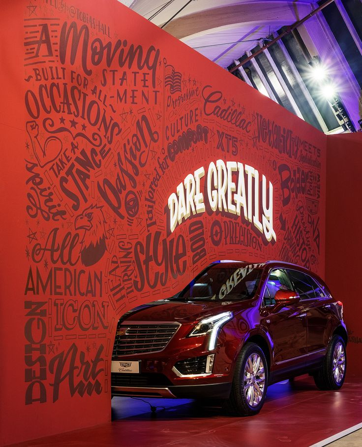 CADILLAC MURAL Created By: Tobias Hall