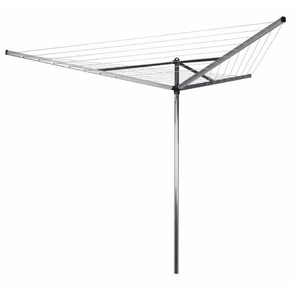 Brabantia Rotary Airer Compact 40m- is ideal if you want a functional solution for drying your laundry outside.