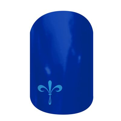 NEW Sorority Wraps!! KKG Fleur-De-Lis  nail wraps by Jamberry Nails  http://ladybug.jamberrynails.net/home/ProductDetail.aspx?id=2199#.UpY2nScZ1Vc