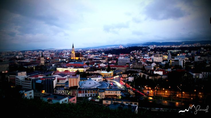 #Cluj, Night out fascinating views.