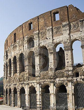 Colosseum in Rome The Colosseum structure in Rome. © Morgan Capasso
