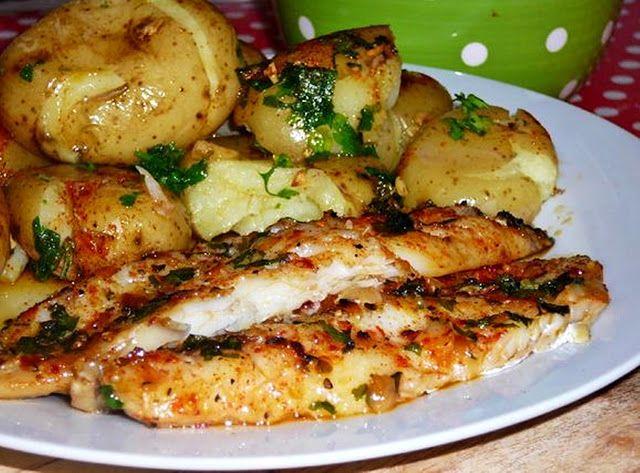 Receitas práticas de culinária: PEIXINHO NO FORNO À NANDA