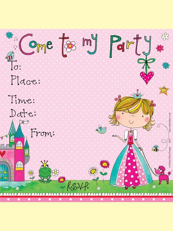 11 best party images on pinterest invites john lewis and from john lewis princess party invitations stopboris Image collections