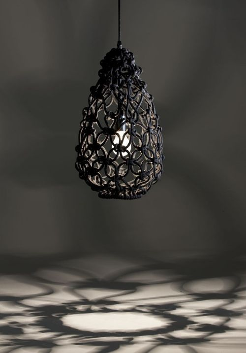 not sure which i like more, the shade itself, or the pattern of light that it casts