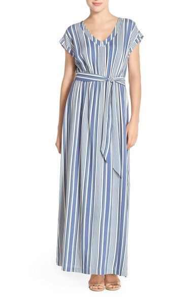 ECI Stripe Maxi Dress available at #Nordstrom
