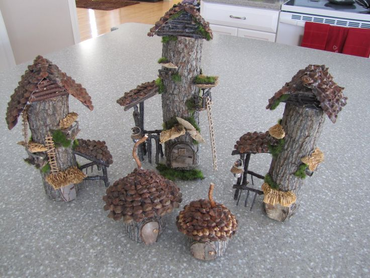 How To Make A Fairy House For Garden Fairy Village With