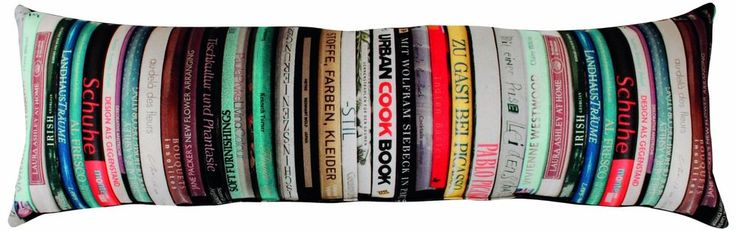 Apelt Books Libri_22x68_50 Cushion Multi-Coloured | Home, Furniture & DIY, Home Decor, Cushions | eBay!