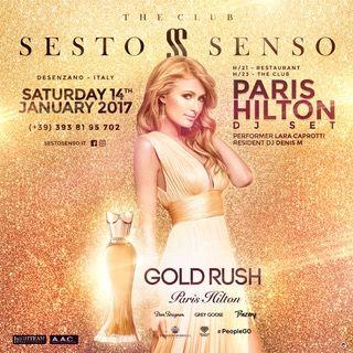 Paris Hilton in Italia, in versione dj