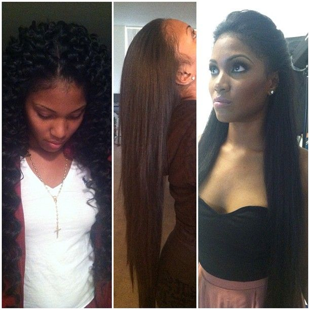 ... quick weave hairstyles sew in weave hairstyles with hair left out cute