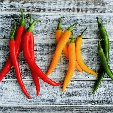 Mmmmm chilies! 🌶️️ so delicious and flavourful with many health benefits too 😊Happy Cooking!    #Regram via @dakshasgourmetspices