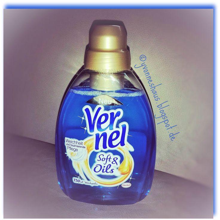 Yvonne`s Haus: Vernel Soft&Oils -- der neue Weichspüler von Henke...
