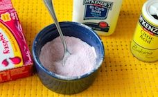 Sherbet is an old-fashioned favourite sweet for children. Now you can make it at home using simple ingredients like jelly crystals and baking powder.