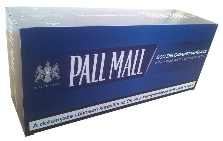 Tuburi tigari Pall Mall albastru cu carbon activ - 1 cutie contine 200 tuburi tigari; culoare filtru: alb; filtrul tigarii contine granule de carbon pentru o filtrare mai buna; dimensiune: standard. Pentru detalii si comenzi: www.tuburipentrutigari.ro