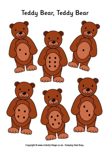 Teddy bear teddy bear game board