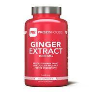 Extracto de jengibre 1000 mg 60 cápsulas - Prozis Foods - Complexos
