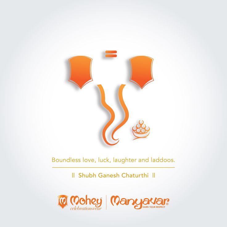 Peace, prosperity and joy from Manyavar & Mohey Parivar. #HappyGaneshChaturthi