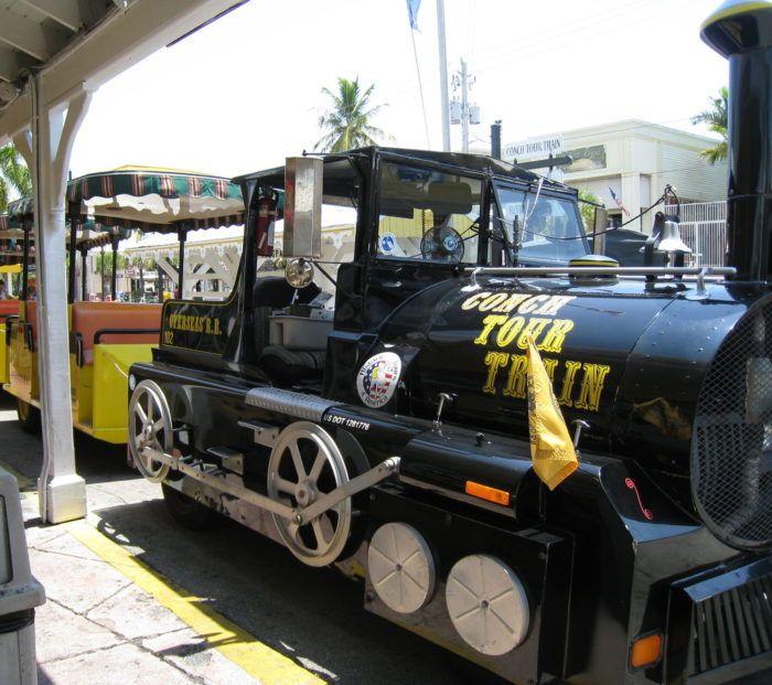 13. Conch Tour Train, Key West