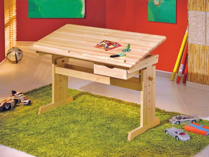 BEPPO Skrivbord Barn Furu - Skrivbord - Kontor - Inomhus