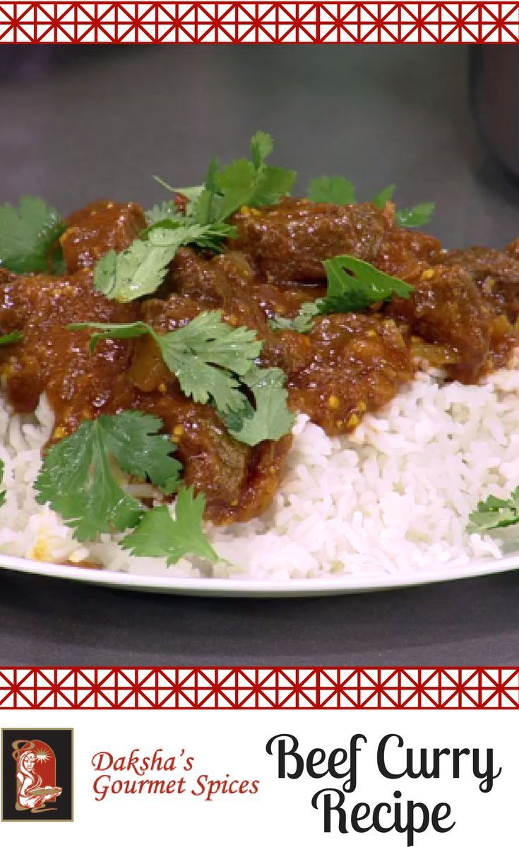 Daksha's #BeefCurryRecipe! As seen on Global BC, this is an #easyrecipe PACKED with flavourful #IndianSpices