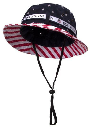 small american flag bucket hats - Google Search