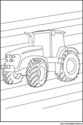 Traktor Ausmalbilder 05 Transport Tractors Coloring Pages Und