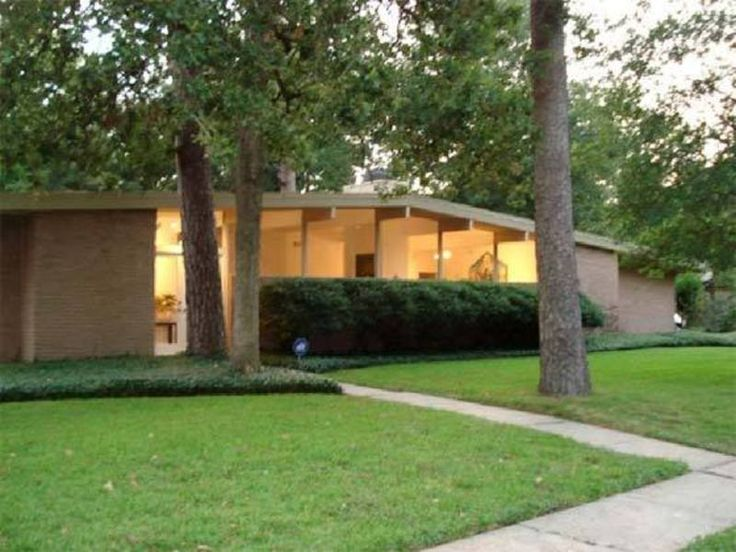 1142 best mid 20th century architecture images on Mid century modern homes for sale houston