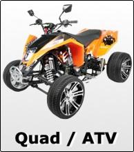 Quad ATV Pocketbike Shop - Kinder Quads, Benzin u. Elektro, Offroad, Pocket Bikes, Dirt Bikes, Zubehör, Ersatzteile, kaufen, Race Quad MIT Strassenzulassung