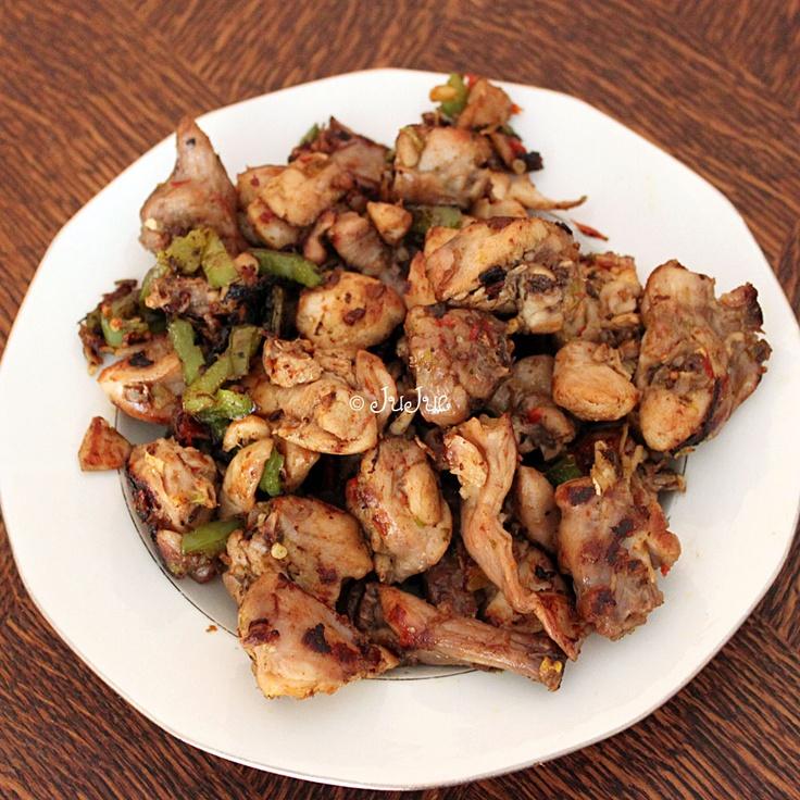 cuisse de lapin, recette chinoise