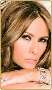 Melania Trump...so gorgeous!
