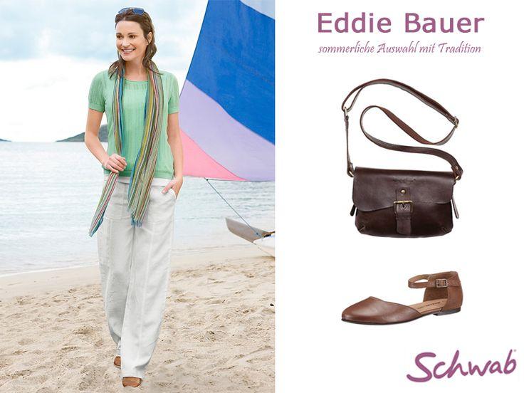 Wie findet Ihr das luftig leichte Eddi Bauer #Outfit? #EddiBauer