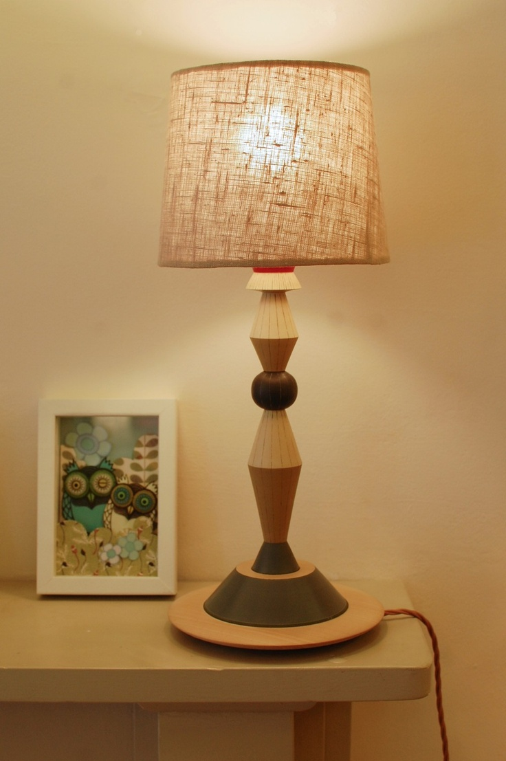 Turned Wood Lamp Base No.4 - Radiance | LAMP TURN WOODEN ...