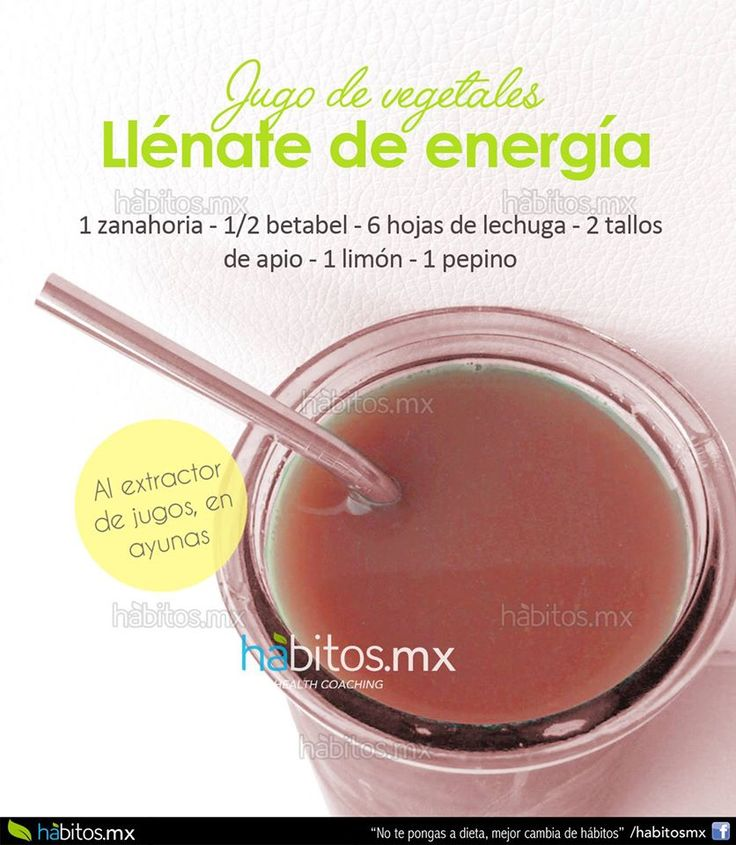 Hábitos Health Coaching | JUGO DE VEGETALES LLENATE DE ENERGÍA