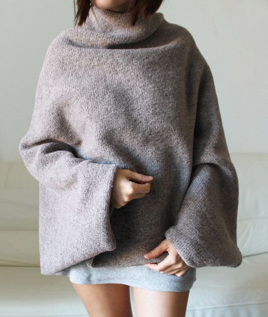 Hey, I found this really awesome Etsy listing at https://www.etsy.com/listing/170777341/wool-sweater-cape-discount-100-wool