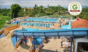 Groupon - Caraguatatuba/SP: 2 ou 3 para 2 + café da manhã no Ilha Morena Praia Hotel – parcele sem juros em Ilha Morena Praia Hotel. Preço da oferta Groupon: R$199
