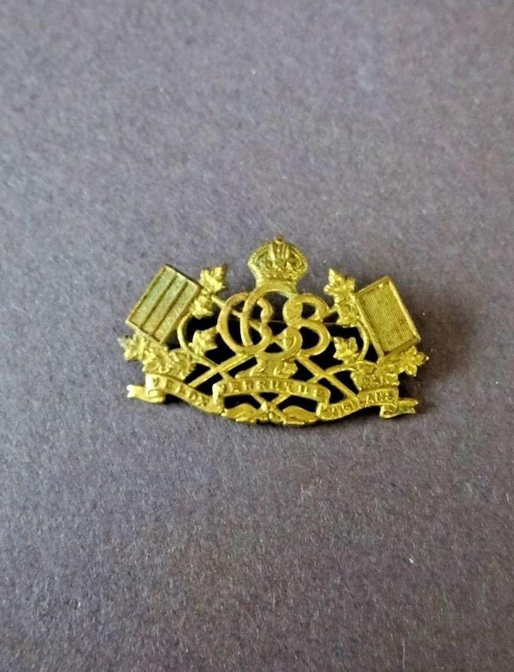 W.W.1 C.E.F. Canadian Signal Corps Sweetheart Pin