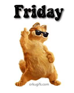 It's friday everybody! Time to get your party on!