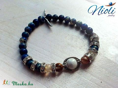 Meska - Csendes tenger női karkötő Niolijewelry kézművestől