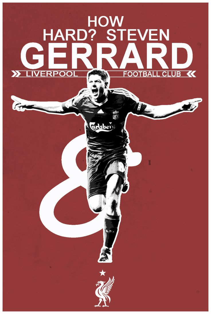 How Hard? Steven Gerrard #lfc #ynwa