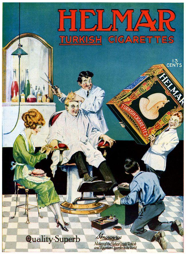 Helmar Cigarettes -1918A