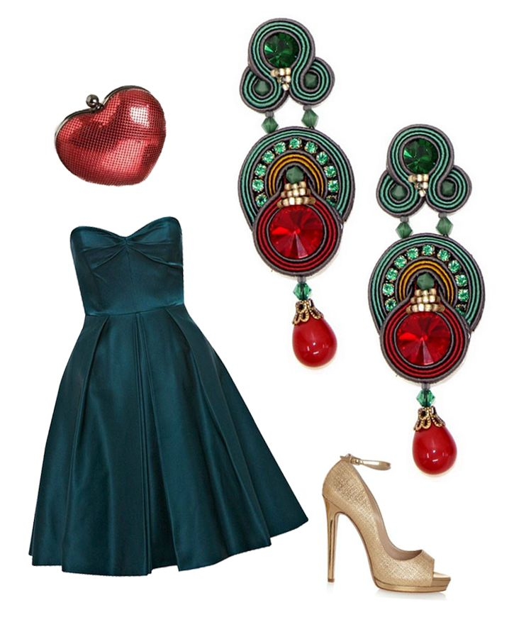 Color me festive with Dori's Temptation earrings!  #DoriCsengeri #festive…