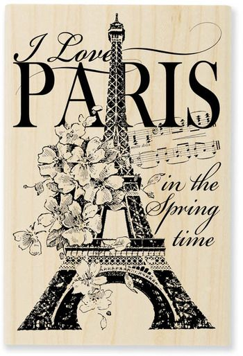 """I Love Paris in the Spring Time."" (I really do!)"