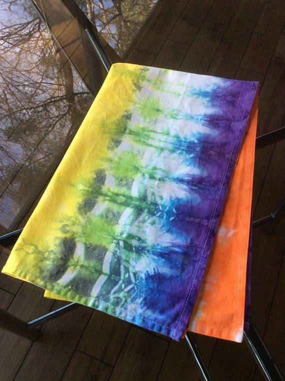 Tie Dye Kitchen Tea Towel / Dish Towel