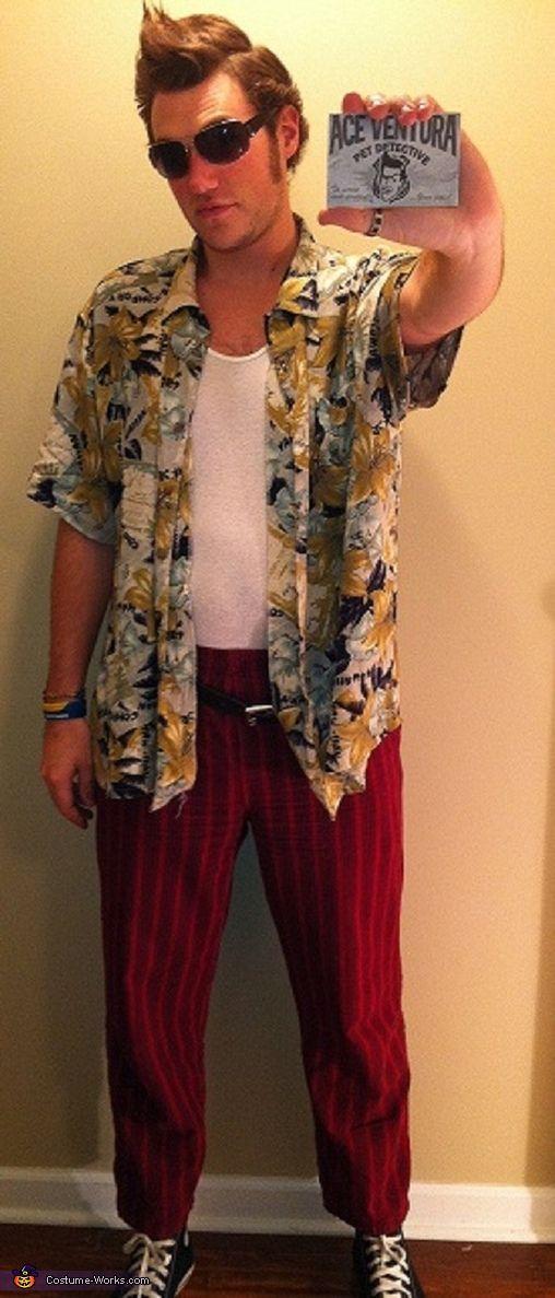 Ace Ventura Kostüm selber machen | Kostüm Idee zu Karneval, Halloween & Fasching