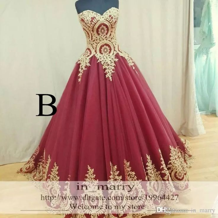 Gold Lace Appliques Arabic Long Prom Dresses 2016 A Line Sweetheart Plus Size Red Burgundry African Indian Kaftan Formal Evening Party Gowns Goth Prom Dresses Long Gowns Online From In_marry, $195.98| Dhgate.Com