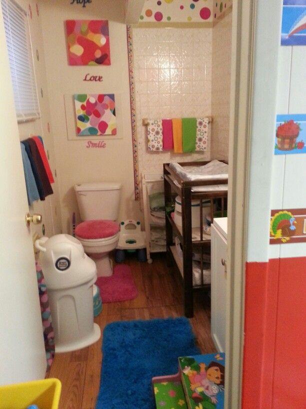 my home daycare bathroom